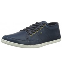 Boxfresh Sparko ICN Navy White Mens Leather Trainers Shoes
