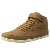 Boxfresh Swich Tan White Waxed Canvas Mens Trainers