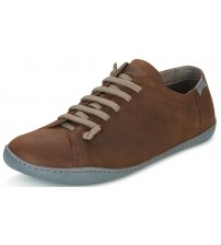 Camper Peu Cami 17665 Brown Mens Leather Lo Trainers Shoes