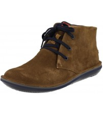 Camper Beetle 36530 Brown Navy Mens Mid Suede Trainers Shoes Boots