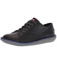 Camper Beetle K100307 Black Mens Leather Trainers Shoes