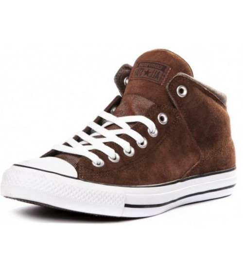 Converse Chuck Taylor All Star High Street Brown Mens Suede Trainer