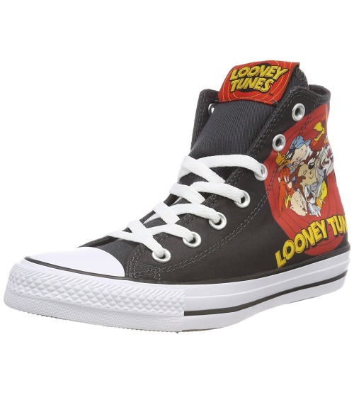 Converse Chuck Taylor All Star Looney Tunes Black White Trainers