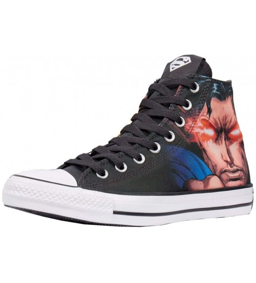 Converse Chuck Taylor All Star DC Comics Rebirth Superman Hi Trainers