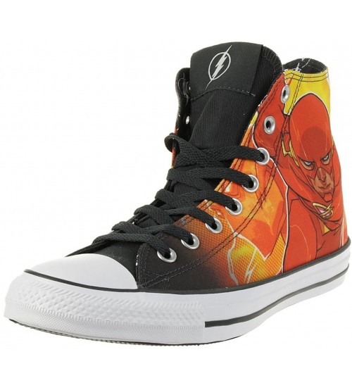 Converse Chuck Taylor All Star DC Comics Rebirth Flash Hi Trainers
