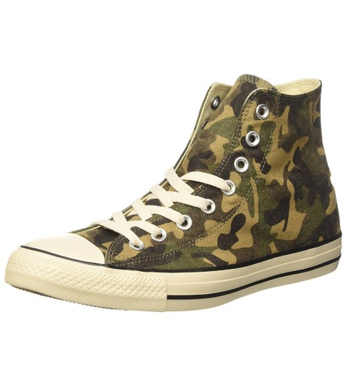 Converse Chuck Taylor All Star Camouflage Hi Trainers Boots
