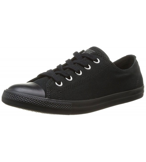 Converse Chuck Taylor All Star Dainty Ox Black Mono Womens Trainers