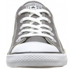 Converse Chuck Taylor All Star Dainty Ox Charcoal White Womens Trainers
