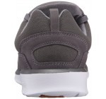 DC Heathrow Charcoal White Mens Mesh Trainers Shoes