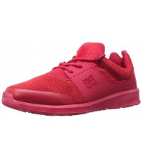 DC Heathrow Prestige Red Mens Trainers Shoes