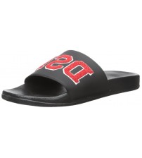 Diesel A-Lohaa Sa-Marl DSL Black Red Mens Beach Flip Flops