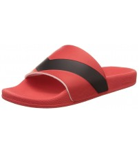 Diesel A-Lohaa Sa Marl Red Black Mens Beach Flip Flops