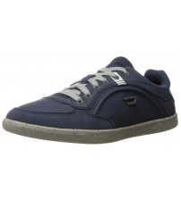 Diesel Eastcop Starch Blue Grey Mens Leather Trainers