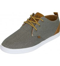 Djinns Low Lau Grey White Tan Men Trainers