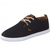 Djinns Low Lau Black White Tan Men Trainers