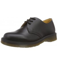 Dr Martens 1461 Black Leather Unisex Shoes