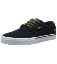 Etnies Jameson Vulc Navy White Brown Mens Skate Trainer Shoes
