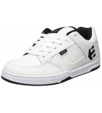Etnies Kartel White Black Mens Leather Skate Trainers Shoes