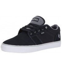 Etnies Barge LS Navy Grey White Mens Suede Trainers
