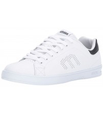 Etnies Callicut LS White Navy Mens Leather Skate Trainers