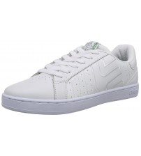 Etnies Fader LS White Green Leather Men Skate Trainers