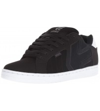 Etnies Fader 2 Black White Mens Leather Skate Trainers