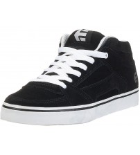 Etnies RVM Black White Mens Suede Skate Trainers