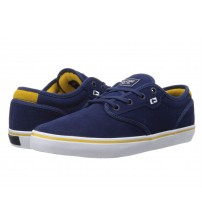 Globe Motley Blue Yellow White Suede Men Skate Trainers