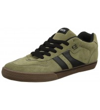 Globe Encore 2 Olive Black Suede Mens Skate Trainers