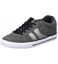 Globe Encore 2 Charcoal White Suede Mens Skate Trainers