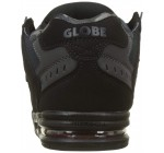 Globe Sabre Black Night Red Mens Leather Skate Trainers
