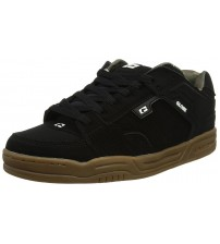 Globe Scribe Black Camo Suede Mens Skate Trainers