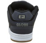 Globe Scribe Navy White Leather Mens Skate Trainers Shoes