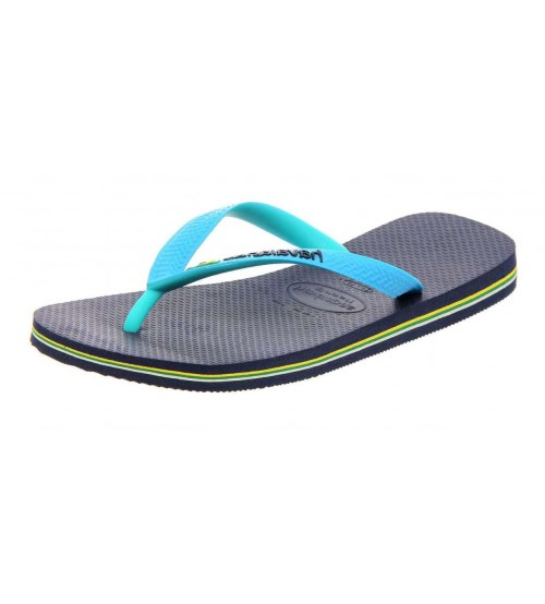 Havaianas Brasil Mix Navy Blue Men Flip Flops