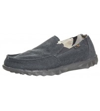 Hey Dude Farty Chalet Oceano Canvas Mens Slipons Shoes