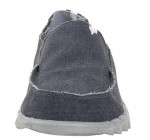 Hey Dude Farty Classic Navy Canvas Slipons Shoes