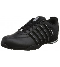 K. Swiss Arvee 1.5 Black Storm Mens Leather Trainers