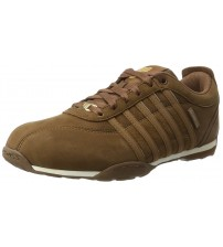 K. Swiss Arvee 1.5 Brown White Mens Leather Trainers