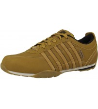 K. Swiss Arvee 1.5 Tan White Mens Leather Trainers Shoes