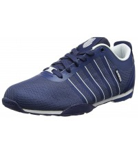 K. Swiss Arvee 1.5 Tech Navy White Mens Mesh Trainers