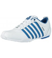 K. Swiss Arvee 1.5 White Blue Black Mens Leather Trainers Shoes