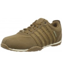 K. Swiss Arvee 1.5 Brown White Mens Suede Trainers Shoes