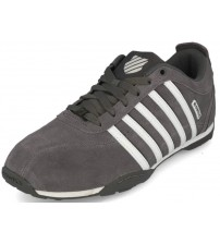 K. Swiss Arvee 1.5 Charcoal White Mens Suede Trainers