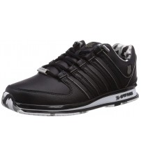 K. Swiss Rinzler SP Black Camo Mens Leather Trainers Shoes