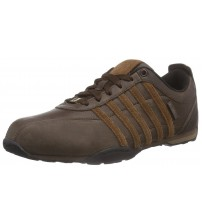 K. Swiss Arvee 1.5 Chocolate Mens Leather Trainers Shoes