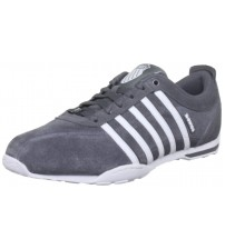 K. Swiss Arvee 1.5 Charcoal White Mens New Suede Trainers Shoes Boots