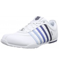 K. Swiss Arvee 1.5 White Black Navy Mens Leather Trainers Shoes