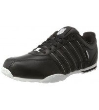 K. Swiss Arvee 1.5 Black White White Mens Leather Trainers