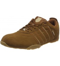 K. Swiss Arvee 1.5 Brown Mens Leather Trainers Shoes