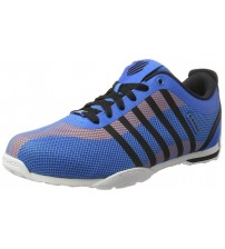 K. Swiss Arvee 1.5 Tech Blue Black Orange Mens Mesh Trainers